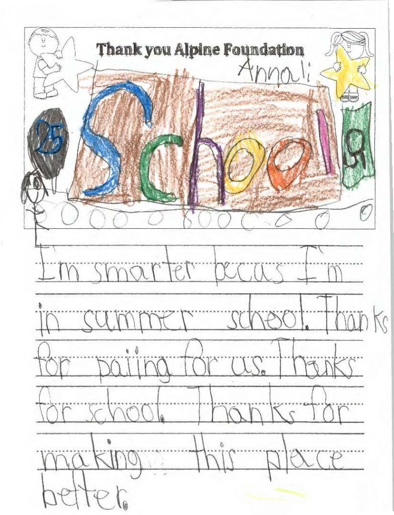 Thank You Notes Page 22